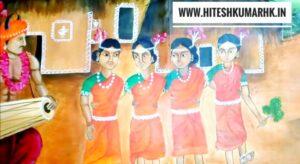 छत्तीसगढ़ के लोक चित्रकला- chhattisgarh lok Chitrakala