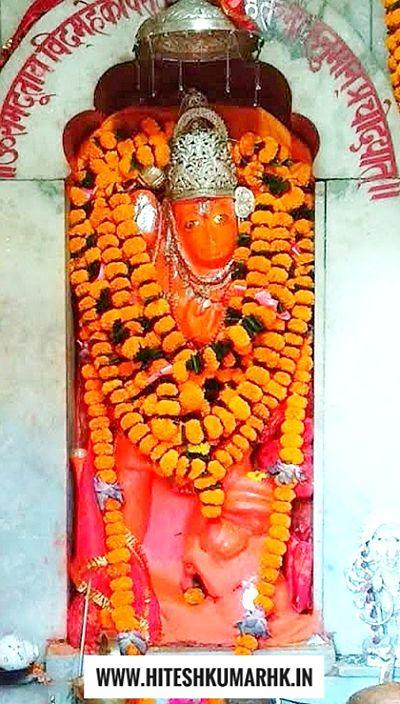 स्त्री रूप में पूजा जाता है गिरिजाबंध के हनुमान जी को girijabandh hanuman mandir ratanpur chhattisgarh